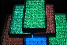 50pcs LED סבון עלה זוהר פרח עלה זר אריזת מתנה עם בסיס דקורטיבי פרחים זרי מתנת חתונה ספקי צד
