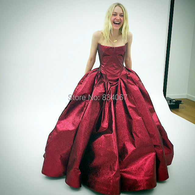 Simple Quinceanera Dress Charming Red Ball Gown 2017 Vestidos De