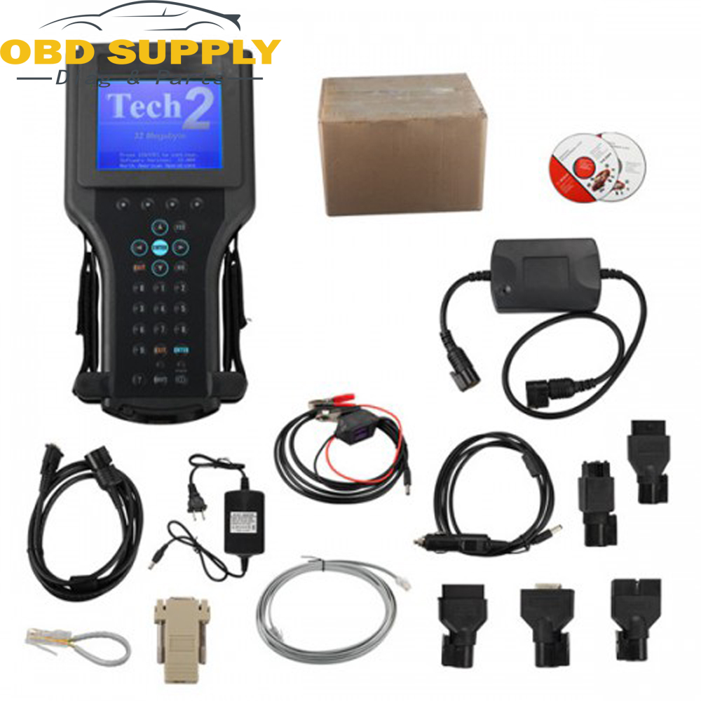 цена на Tech2 Diagnostic Scan Tool For GM for SAAB for OPEL for SUZUKI for Holden for ISUZU With 32 MB Card And TIS2000 Software