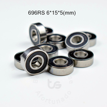 696RS 6*15*5(mm) 10pieces bearing free