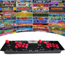 Ретро аркадная игровая консоль для двух игроков, ретро, 64 ГБ/128 ГБ, металлический чехол, джойстик, Боевая палка