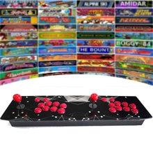 RetroArcadeCrafts RAC T300 두 플레이어 레트로 아케이드 게임 콘솔 64G/128G 금속 케이스 조이스틱 파이팅 스틱