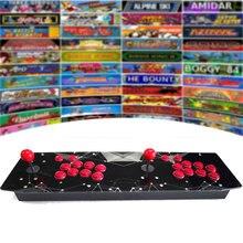 RetroArcadeCrafts RAC T300 Due Giocatori Retro Arcade Console di Gioco 64G/128G Cassa Del Metallo Bastone di Combattimento Joystick