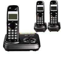 1 9 GHz Dect 6 0 Call ID Digital Cordless Phone With Answer System Wireless Base
