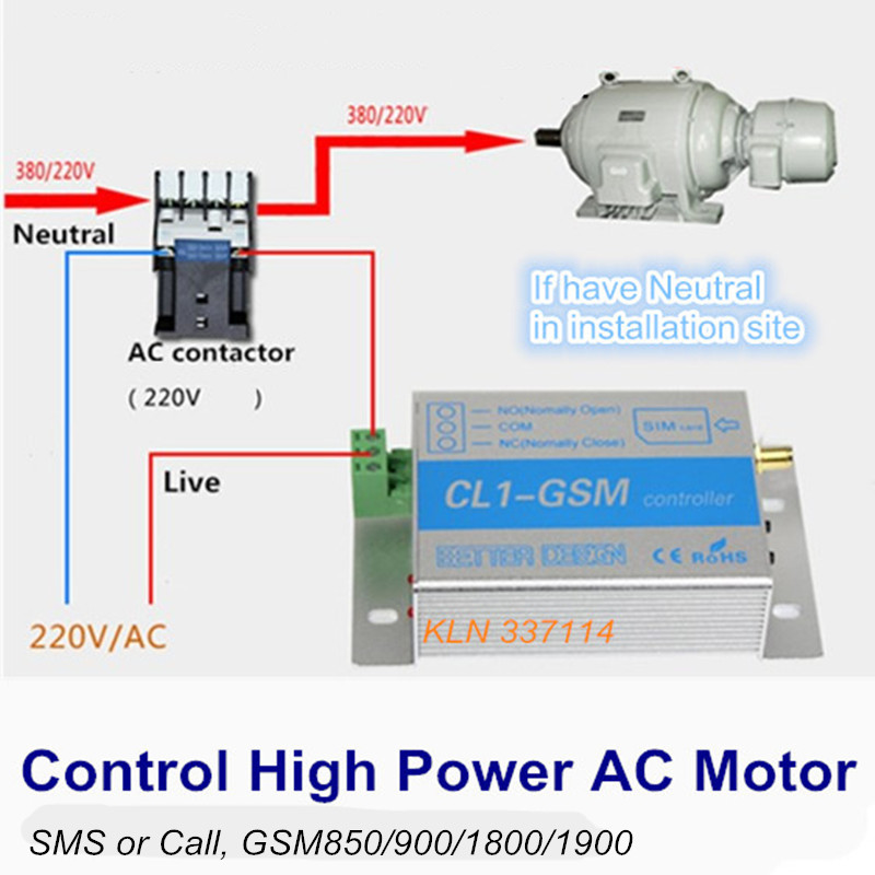 Gsm Controller Sms Call Remote Control Relay Switch For