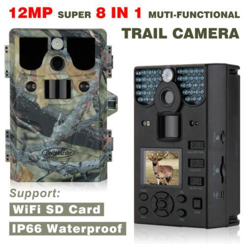 Free Shipping 16GB SG 990V 12MP HD Hunting Scouting Wildlife Animal font b Trail b font