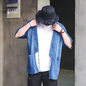 2020 luxury solid casual mens denim plus bomber men high quality cowboy men's jean chaqueta hombre