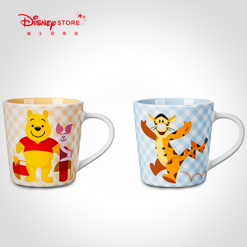 Disney Fashion Winnie the Pooh Tigger Ceramic Water Cup Cartoon Creative 2018 New Water Cup ...