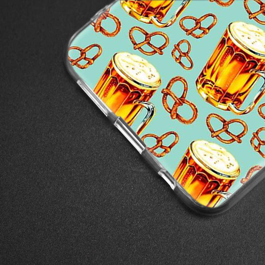 Silicone Case for Samsung Galaxy S10 S10e S8 S9 J4 J6 A6 A8 Plus 5G M30 M20  M10 A50 A30 A10 Cover The Summer Have Wheat beer