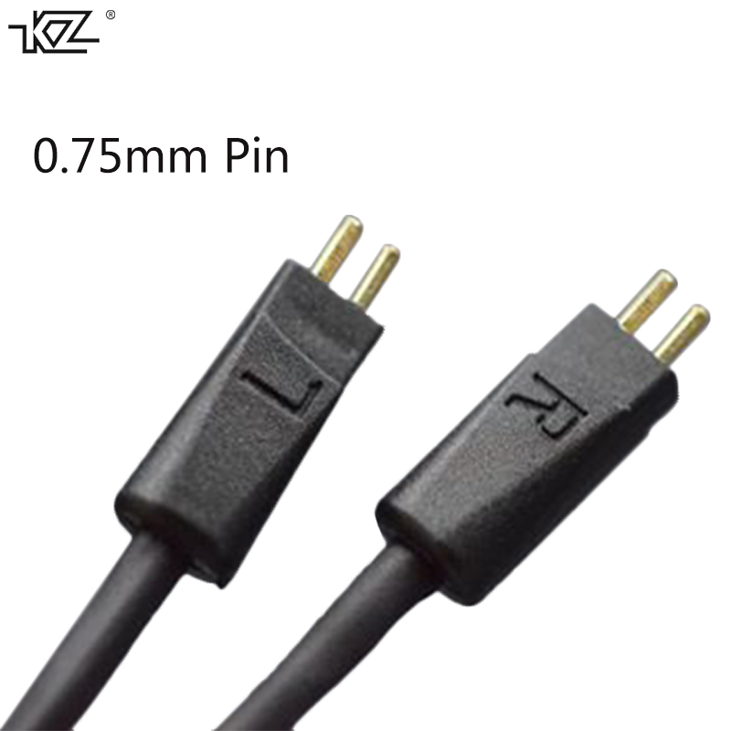 KZ ZS5 original earphone wired cable with microphone stereo bass ...