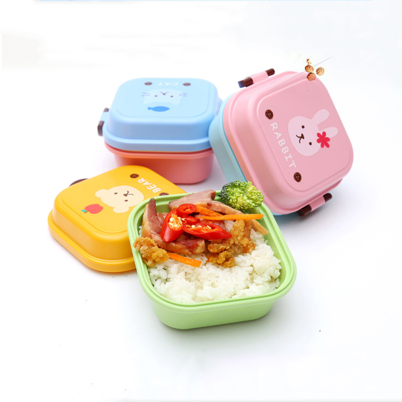 Cute Cat Food Container