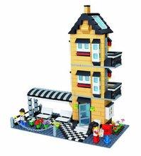 WanGe 546pcs Agile villa constructing block set suitable with lego 3D Construction Brick Educational Hobbies Toys for Kids