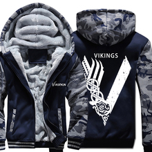 Men hip hop jackets coats funny Odin Viking hoody hoodies men sweatshirts Vikings clothes mans plus M-5XL tracksuits 2019