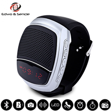 Newest Smartwatch B90 Smart Watch Wireless Bluetooth Sport Speaker Music Player Self-Time Hands-free Call TF Card FM Audio Radio
