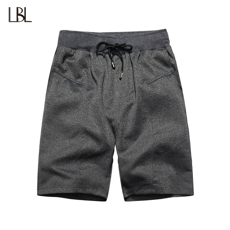 US Size Summer Mens Shorts Casual Jogger Clothes Short Sweatpants Elastic Waist Bodybuilding Sportswear Loose Mens Trousers 2XL