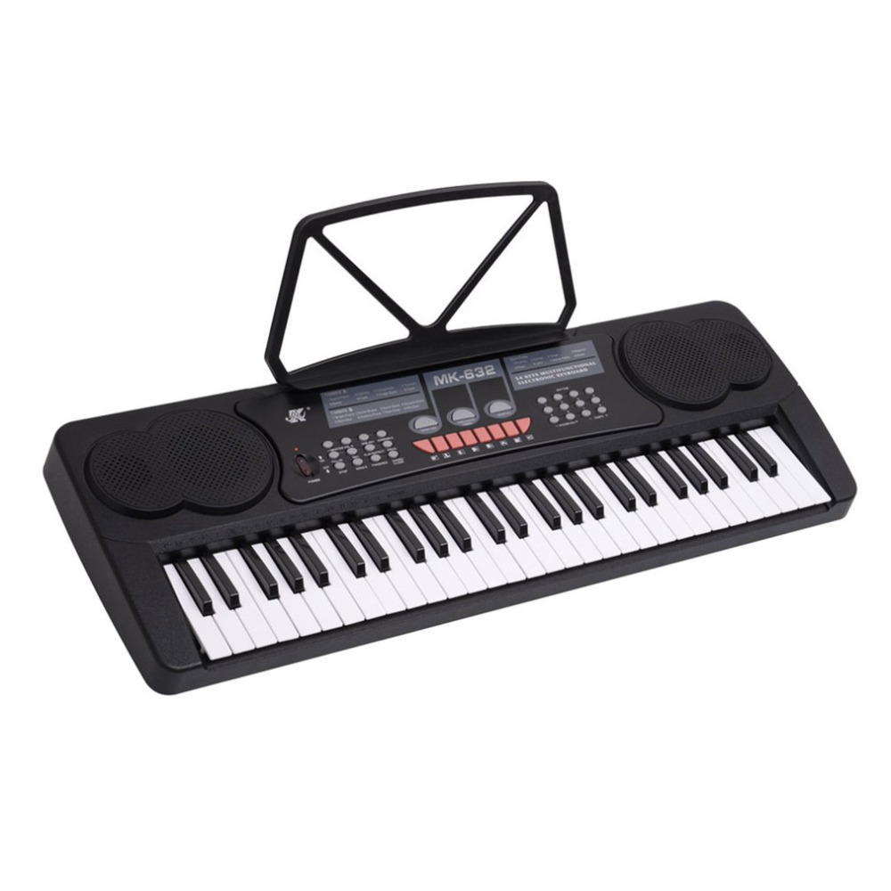 Top Quality 54 Keys Multifunctional Electronic Keyboard 16 Timbres 8 Rhythms 8 Demo Songs Electric Organ Easy To Learn велосипед specialized demo 8 i 2014