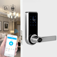 Hotel Door Lock RFID smart Card Systems With Security Door Digital Password Door Locks YOHEEN YJ818