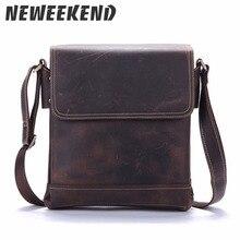 Crazy Horse пояса из натуральной кожи мужской для мужчин через плечо сумка повседневное сумки через для Ipad портфели портфель 9065
