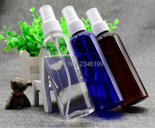 Empty Spray Pump Bottle 100ml Blue Plastic Spray Bottle Empty Plastic Cosmetic Container Plastic Brown Spray Bottle 100ml (7)