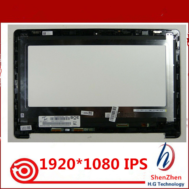 13 3 LCD screen with touch frame For font b Acer b font CB5 312T N16Q10