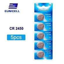 цены на 5pcs/Lot=1pack CR2450 2450 ECR2450 KCR2450 5029LC LM2450 Button Cell lithium Battery ,Coin Battery for Watch, Free Shipping  в интернет-магазинах