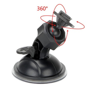 360 Degree Rotating Car Holder Car Driving Recorder Bracket Sport DV Camera Mount for Xiaomi DVR Holder image