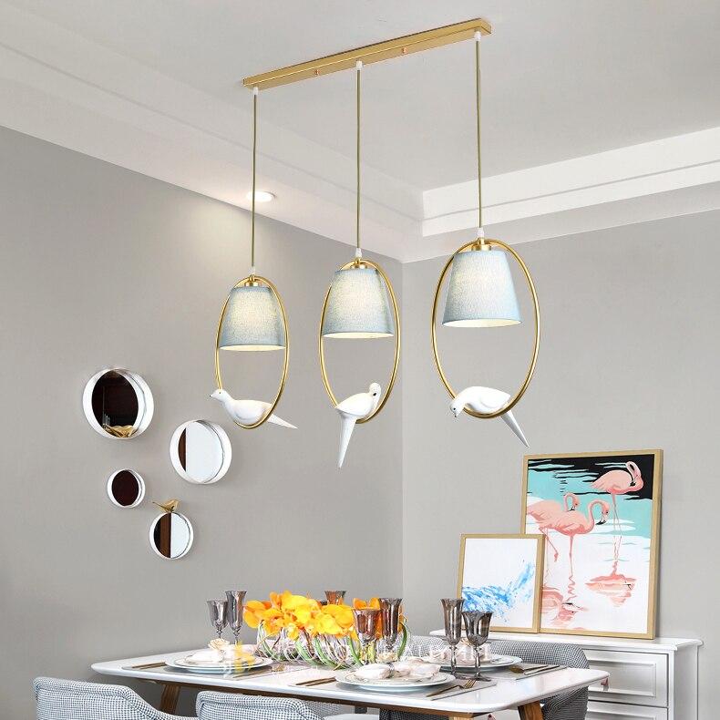 Современные светодиодные стеклянные подвесные светильники, скандинавские столовые, Кухонные светильники, дизайнерские подвесные светиль