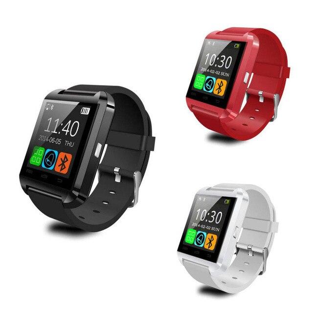 5317dba73a8 Hot Vendas U8 Smartwatch Inteligente Bluetooth Relógio de Pulso de Moda U  Relógio Para iPhone Android