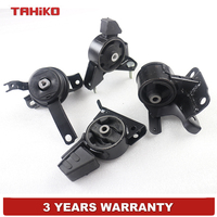 Engine Motor Transmission Mount Set Fit for TOYOTA Corolla 1.8L 3 Spd Automatic