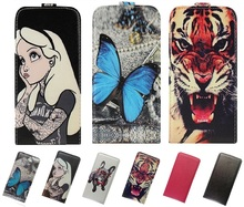 Yooyour universal flip leather phone case for Beeline Smart 3 Luxury high-grade printed butterfly
