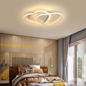 Image 3 - 새로운 알루미늄 현대 LED 천장 조명 lampada 침실 어린이 방에 대 한 홈 lamparas de techo 천장 조명 AC110V 220V