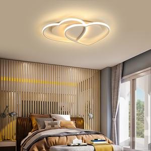Image 3 - NEW aluminum Modern LED ceiling lights lampada led For Bedroom Childrens room Home lamparas de techo ceiling lamp AC110V 220V