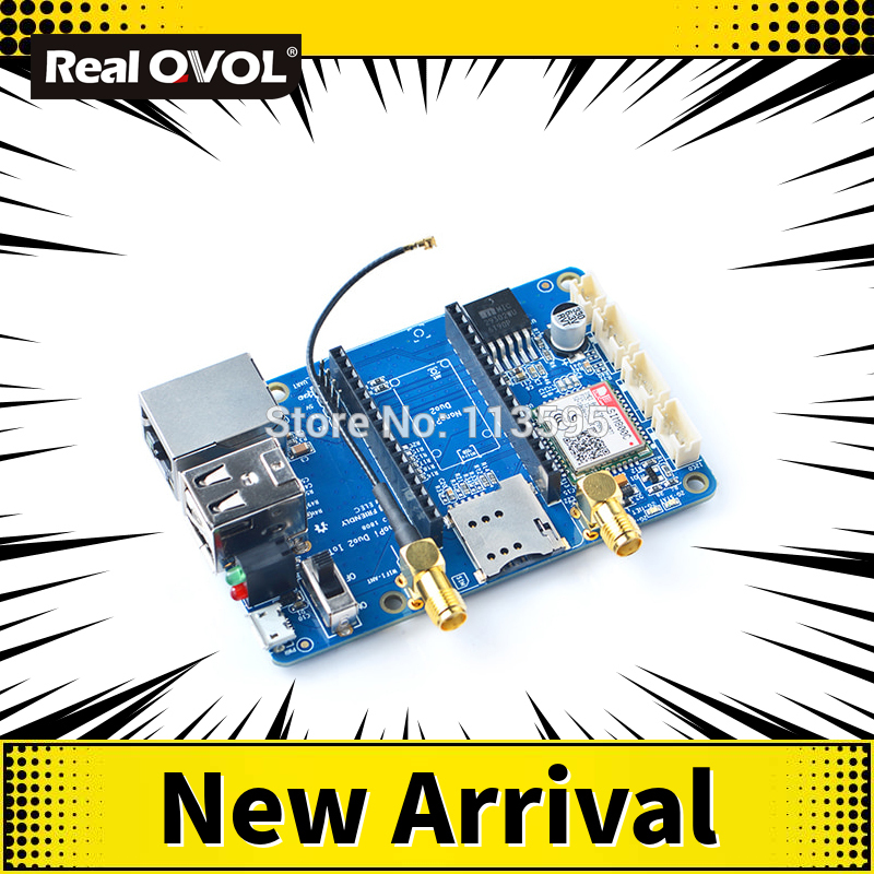 RealQvol Friendlyarm IoT-2G Application Carrier Board For NanoPi Duo2 GSM/GPRS+WiFi SIM800C