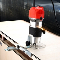 Electric Woodworking Trimming 220v 30000rp Hand Carving Machine Wood Router Trimming Engraving Electric Trimmer DIY Power Tools