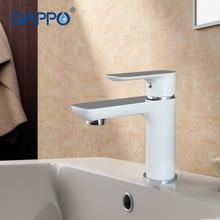 GAPPO 1set basin faucet bathroom sink mixer brass tap water faucet bathroom sink faucet tap bathroom white waterfall mixer G1048