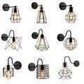 Американский винтажный настенный светильник  домашний  прикроватный  промышленный  для прохода  спальни  настенный светильник ing 90 В/260 в E27