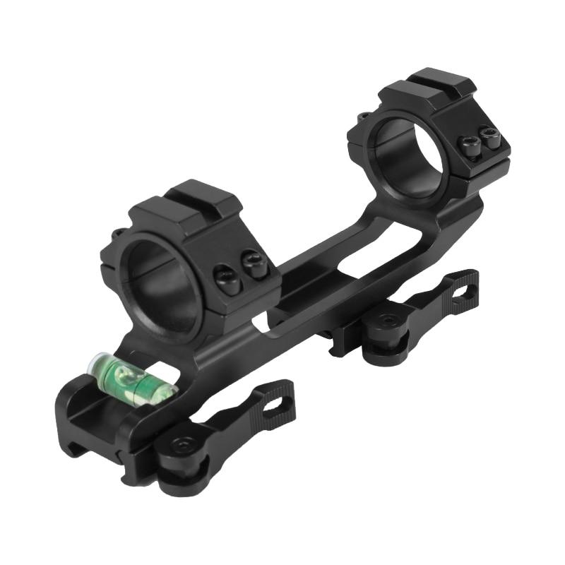 Nível com 20mm Westhunter Liberação Rápida Peça Picatinny Weaver Escopo Montar 25.4mm – 30mm Anéis Bolha Ferroviário Uma