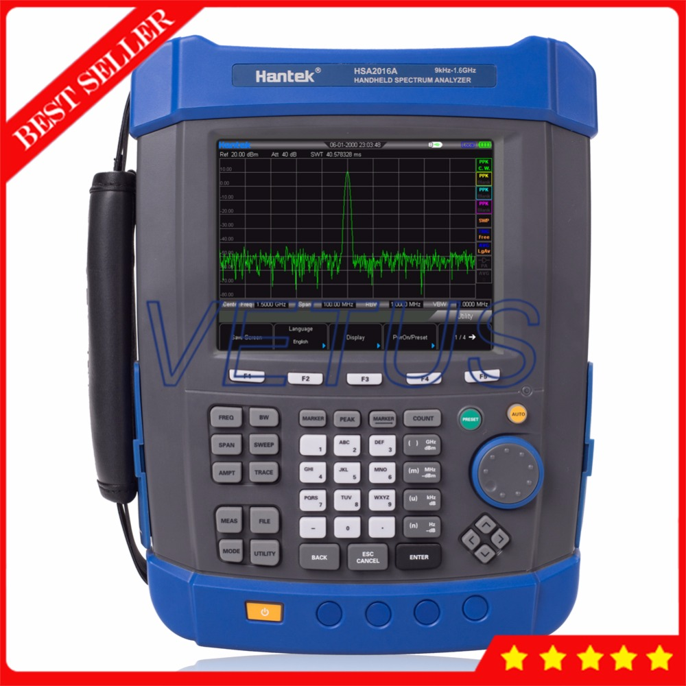 HSA2016A USB interface Handheld Digital spectrum analyzer with portable Field Strength Meter spectrum monitor цена