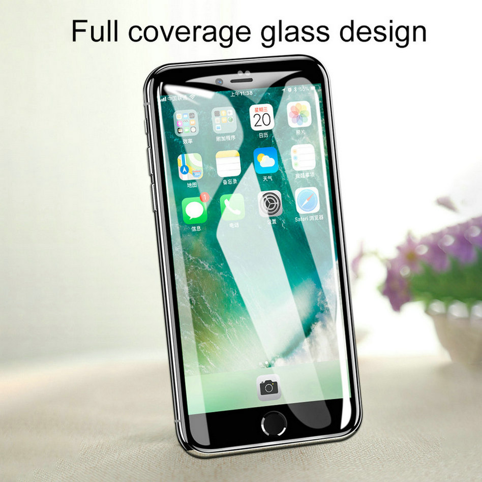 6D Glass On The For iPhone 6 6 s Plus Tempered Glass Full Cover 5D Round Edge Case For iPhone X 7 8 6 Plus 10 Screen Protector  (2)