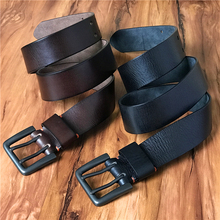 Super Wide 4.2CM Genuine Leather Men Belt Mens Belts Luxury Double Pin Vintage Belt Buckle Ceinture Homme Jeans Belt MBT0018