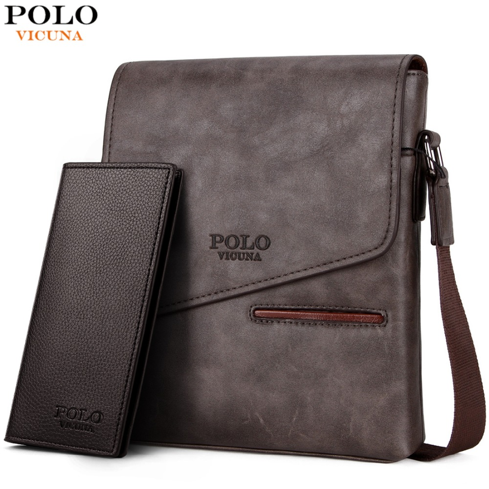 1d5151178a52 VICUNA POLO Vintage Frosted Leather Messenger Bag For Man Brand Business Man  Bag Men's Shoulder Bags Front Pocket Men Handbag on Aliexpress.com |  Alibaba ...