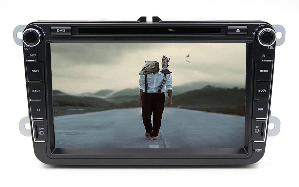 цена на Double Din Car PC DVD GPS For VW Golf 5 6 Polo Bora Jetta MK4 B6 Passat Tiguan Skoda Octavia Fabia android(optinal)car Russia PC