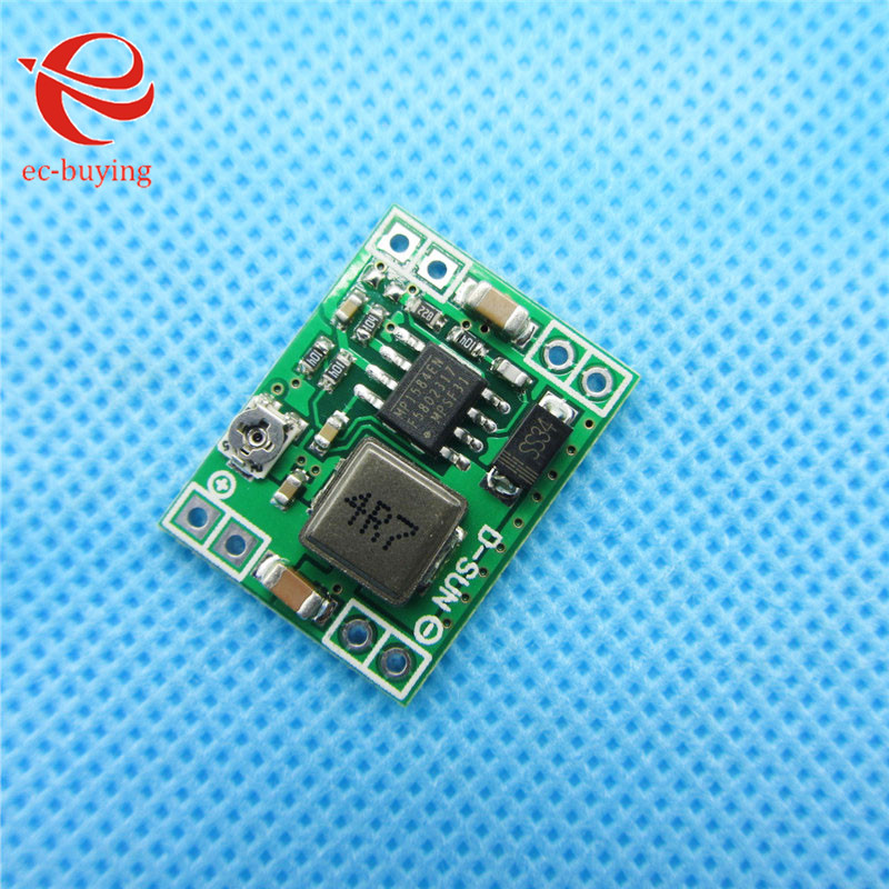 9dae2a223edc4 10pcs lot Ultra-Small Size DC-DC Step Down Power Supply Module 3A  Adjustable Step-Down Module Replace LM2596