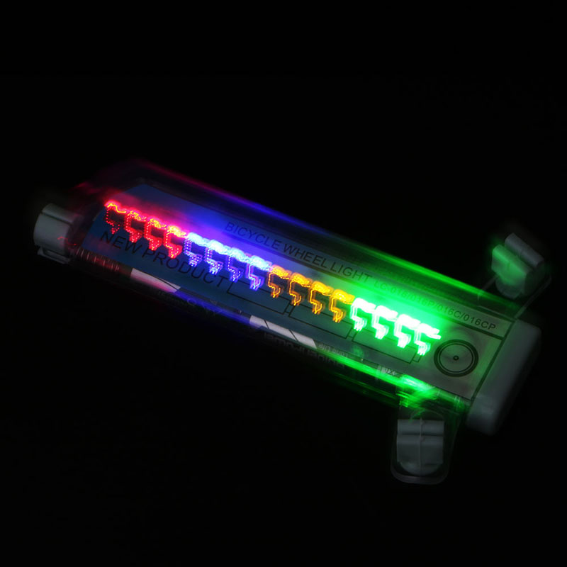 Sports & Entertainment 1pc New 30 Kinds Flash Riding Safety Bike Cycling Bicycle Tire Valve 32 Led Flash Spoke Wheel Light Bicycle Light