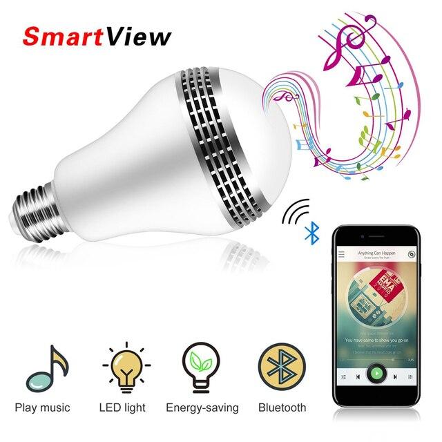 VONTAR Bluetooth Smart Speaker Light E27 LED White + RGB Bulb ... on speaker audio, coaxial audio, sony audio, headset audio, multimedia audio, cd audio, cable audio, set clock pioneer car audio, dvi audio,