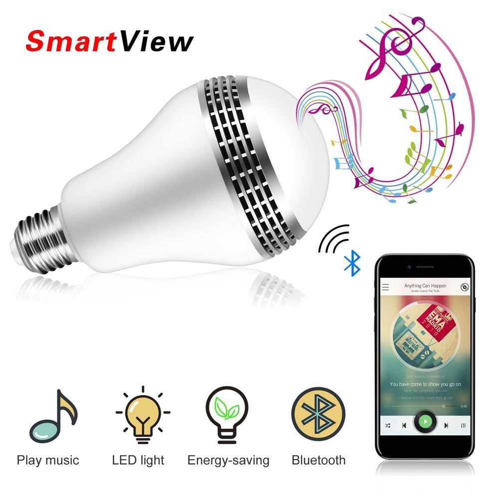 VONTAR Bluetooth Smart Speaker Light E27s