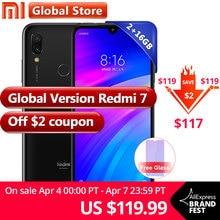 "Global version Xiaomi Redmi 7 2GB RAM 16GB ROM Mobile phone 4000mAh Snapdragon 632  Phone Octa Core  6.26""  Full screen  12MP"