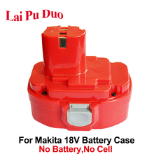 For Makita 18V NI CD NI MH 1820 Plastic Case Battery Cordless Electric Drills 1822 1823 1833 1834 1835 1835F 192827 3 192829 9