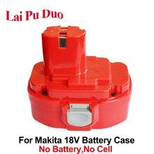 Voor Makita 18 V NI CD MH 1820 Plastic Case Batterij Draadloze Elektrische Boren 1822 1823 1833 1834 1835 1835F 192827 3 192829 9