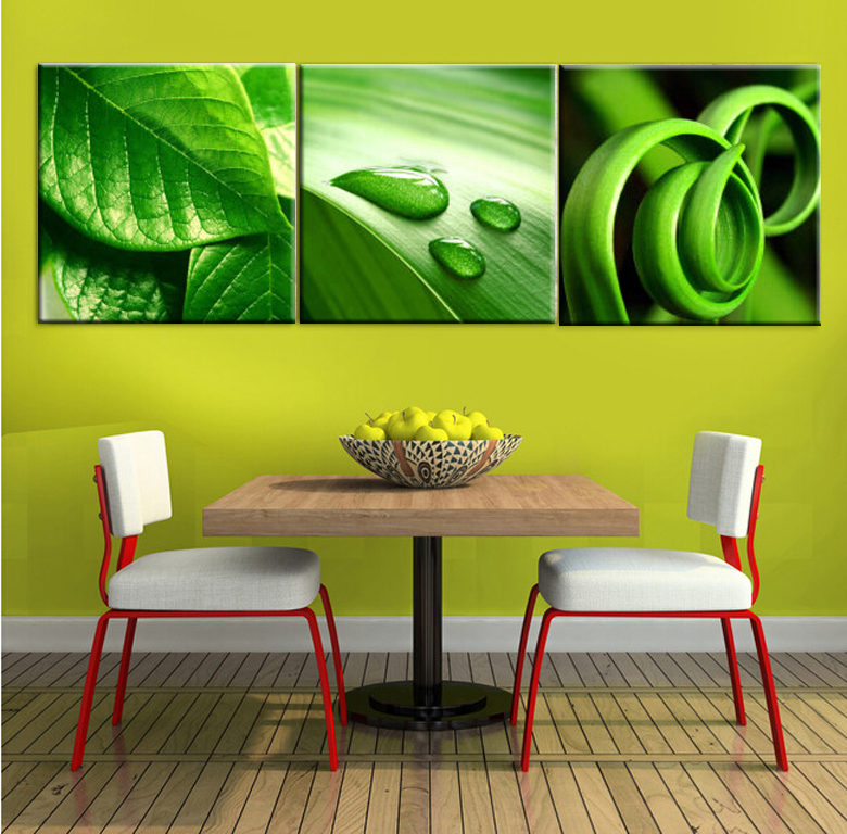 Oil Painting On 3 Piece Cheap Modern Paintings For Living Room Wall ...
